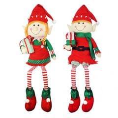 Christmas Shop Sitzende Elf-Ornament, 81 cm
