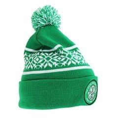 Celtic FC Strickmütze mit Schneeflocken-Design