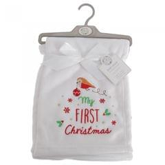 Snuggle Baby Baby-Wickeltuch mit Design My First Christmas