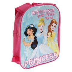 Disney Kinder Rucksack Nothing Can Stop This Princess, Motiv mit Disney-Prinzessinnen, mit umkehrbaren Trägern