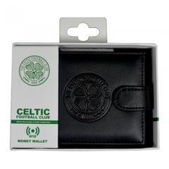Herren RFID-Geldbeutel mit Celtic-FC-Prägung