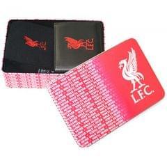 Herren Geschenkset mit Liverpool-FC-Geldbeutel und Socken, in Dose