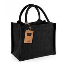 Westford Mill Jute-Tasche / Jute-Mini-Geschenktasche, 6 Liter (Packung mit 2)