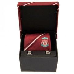 Liverpool FC Tie And Cufflink Set