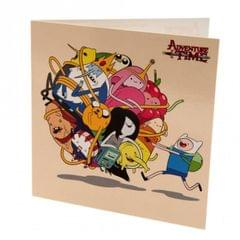 Adventure Time Character Birthday Card