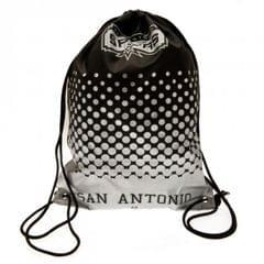 San Antonio Spurs Fade Design Drawstring Gym Bag