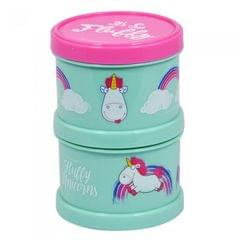 Despicable Me Kinder Fluffy Unicorn 2 Stufen Snack Container