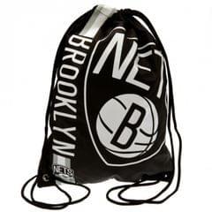 Brooklyn Nets Drawstring Gym Bag