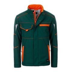 James and Nicholson Unisex Workwear Softshell-Jacke, wattiert, Level 2
