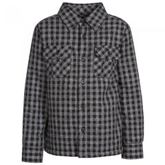 Trespass Childrens/Kids Average Long Sleeved Gingham Shirt