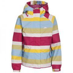 Trespass Childrens Girls Popstar Zip Up Waterproof Jacket