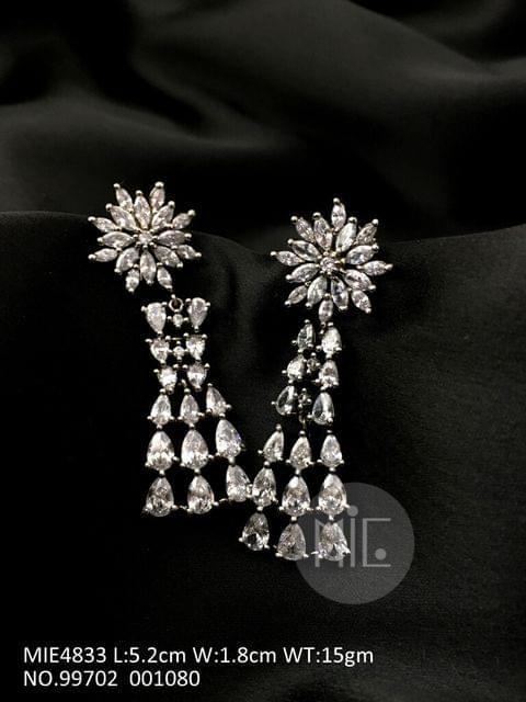 American Diamond Dangler with an year warranty