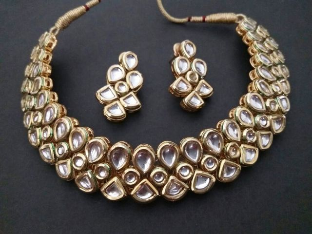 High Class Kundan Necklace with an year warranty