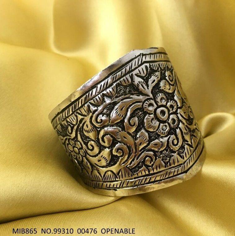 German Silver Bracelet with an year warranty