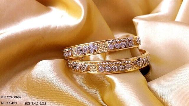 Awesome pair of 2 bangles with an year warranty