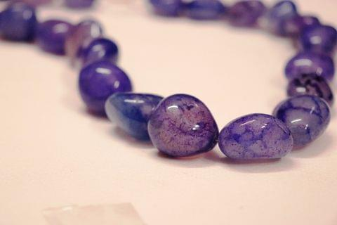 High Quality Stone Necklace with an year warranty