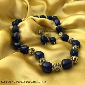 High quality Stones chain necklace  with 2 years Warranty