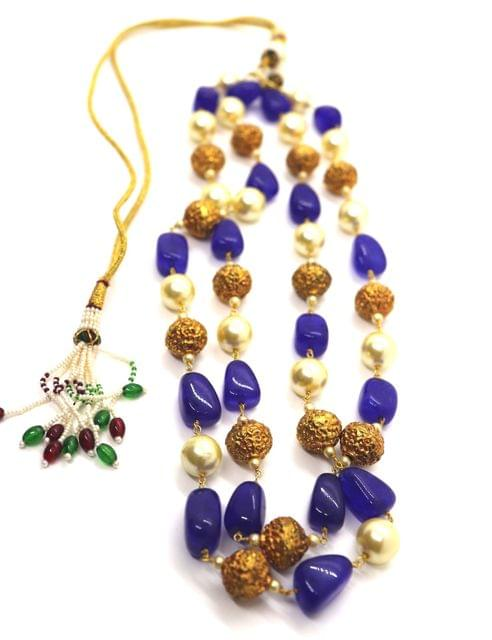 Buy this beautiful necklace made of Beads + Stones and Pearls. It is beautifully designed to enhance the beauty of amazing you