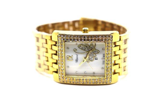 Beautiful butterfly engraved watch- High Class Watch 1 year warranty