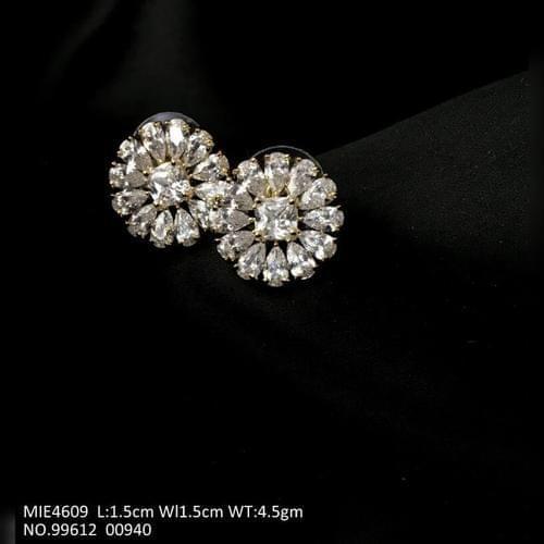 American Diamond Studs with an year warranty