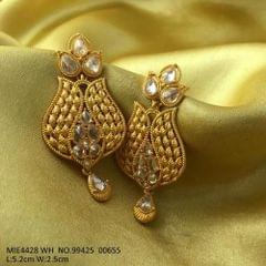 High class Brass+ Gold plated+ Semi Precious Stone with an year warranty