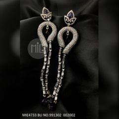 American Diamond Dangler with an year warranty with Semi Precious Stone