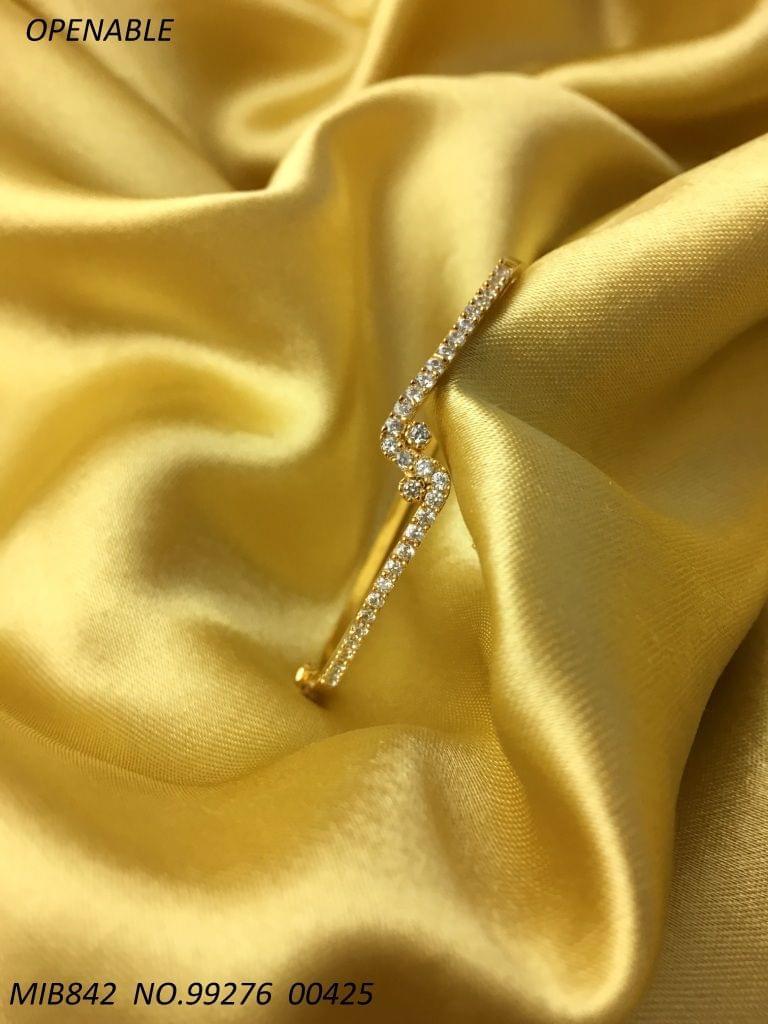 High Class Kada- American Diamond  - 1 year warranty