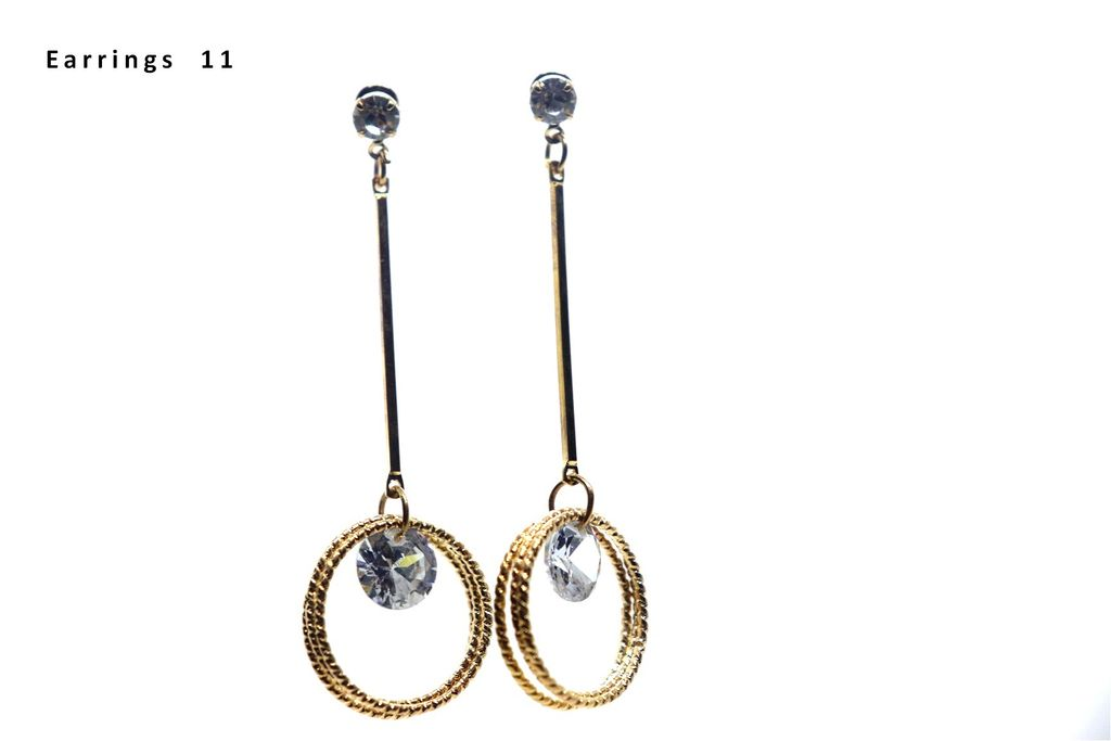 Awesome Danglers - 6.3 centimetersin length and width is 1.6 centimeters