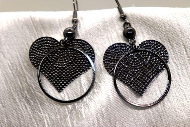 Awesome Earrings - Heart Shaped Danglers