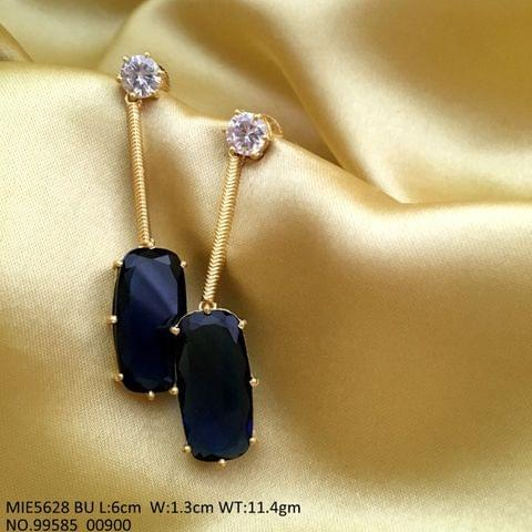 American Diamond earrings with an year warranty