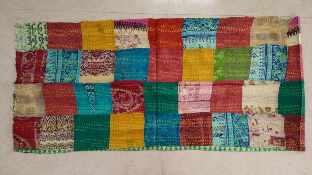 Katha Patch work Stole/Dupatta for perfect you