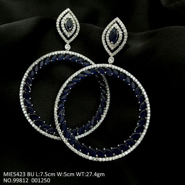 American Diamond Dangler earrings