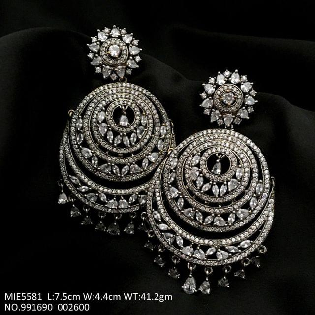 American Diamond Dangler earrings