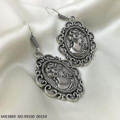 German Silver Earring with an year warranty