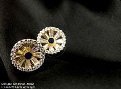 Cute sparkling stud set with best quality cubic zirconia in non allergic and tested metal alloy