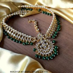 Buy this beautiful  Kundan Necklace with an year warranty