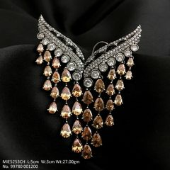 American Diamond Dangler with 1 year warranty
