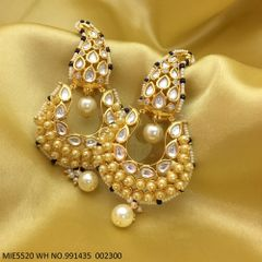 Kundan Stones + Pearl Stones + Fresh Water Pearl with an year warranty