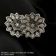 Beautiful American Diamond stud with an year warranty