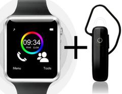 Shoyo A1 Smartwatch with Universal Bluetooth Headphone