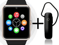 Shoyo GT08 Smartwatch with Universal Bluetooth Headphone