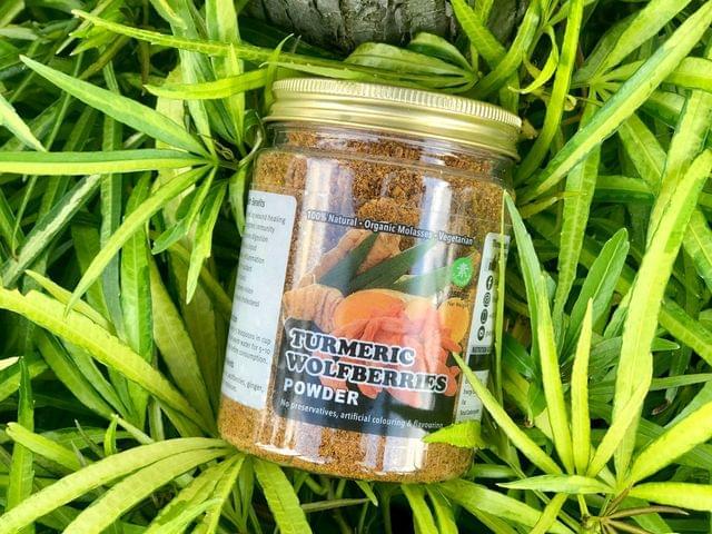 Three Leafs Turmeric Wolfberries Powder (TW)