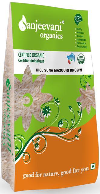 Organic Sona Masori Brown 1000 Gms