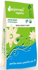 Organic Whole Wheat Flour 2000 Gms