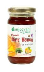 Organic Mint Honey 250 Gms