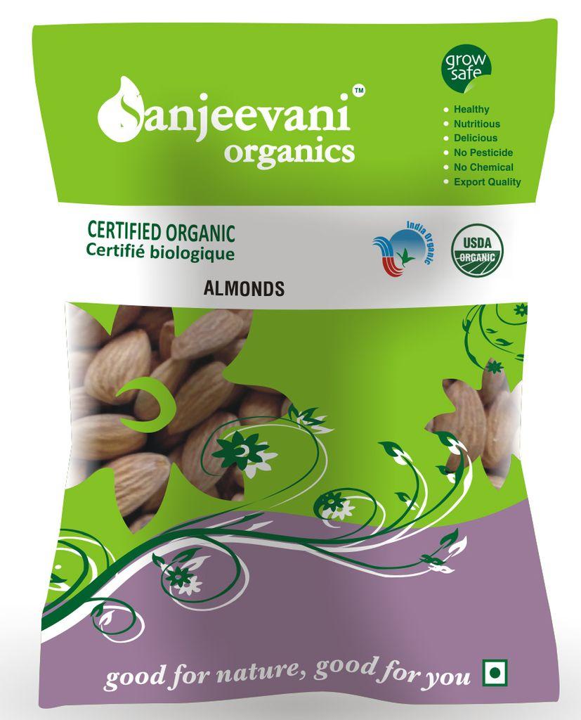 Organic Almonds  150 Gms