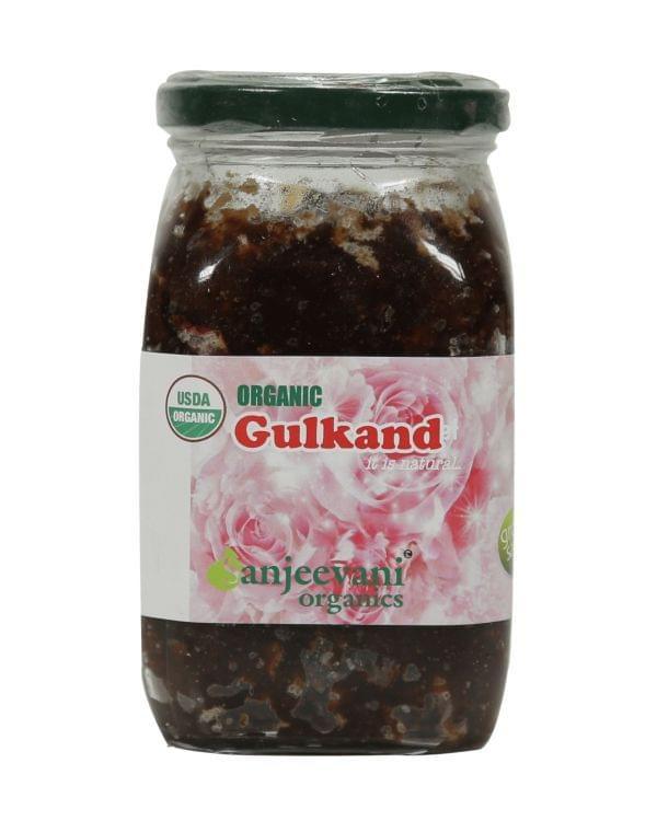 Organic Gulkand (Rose petals jam) 470 Gms