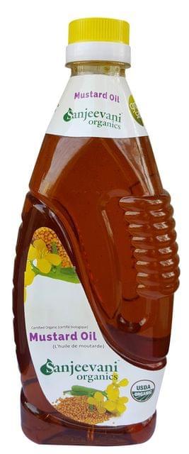 Organic Mustard oil  1000 Gms