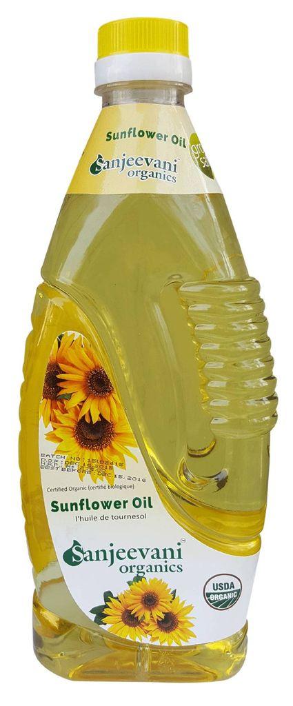 Organic Sunflower oil  1000 ml