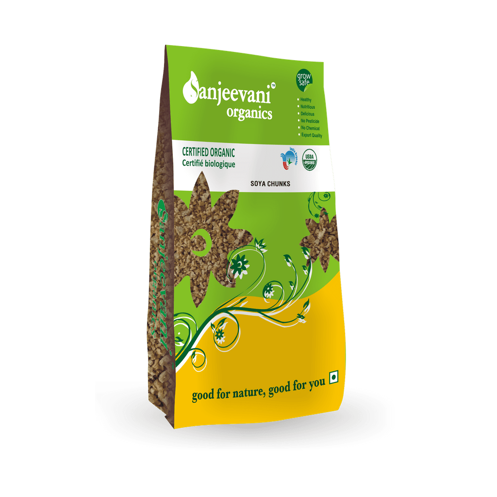 Organic Soya Chunks 250 Gms